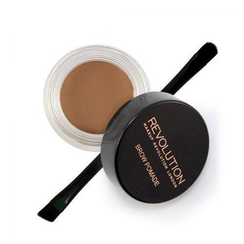 Pozostały makijaż oczu, Makeup Revolution, Brow Pomade. Pomada do brwi, Medium Brown - Makeup Revolution
