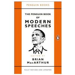 The Penguin Book of Modern Speeches - MacArthur Brian (opr. miękka)
