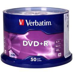 Płyta DVD+R cake(50) 16x Verbatim 4.7GB