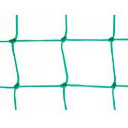 Siatka na piłkochwyty. Piłkochwyt polietylenowy oko 100mm x 100mm splotka fi 4mm.