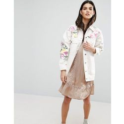 ASOS Premium Embroidered and Studded Jacket - Multi
