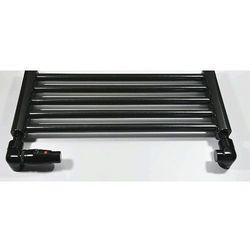 Zestaw łazienkowy osiowo lewy CU na miedź Schlosser Lux 6037 00027 Czarny RAL 9005