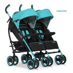 Wózek Bliźniaczy EasyGo Duo Comfort Malachite