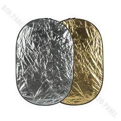 GlareOne Blenda 2w1 srebrno złota, 60x90cm