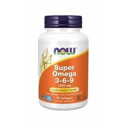 NOW Foods Super Omega 3-6-9 180 kaps