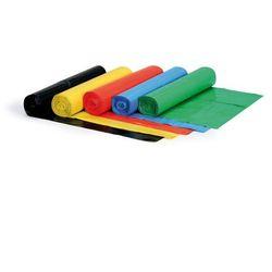 Worek na śmieci 120 litrów, 700 x 1100 mm, LDPE, 50 mikronów, zielony