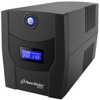 Zasilacze UPS, Zasilacz awaryjny UPS Power Walker Line-Interactive 1500VA STL FR 4xPL USB RJ11/45 In/Out