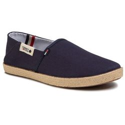 Espadryle TOMMY JEANS - Summer Shoe EM0EM00423 Twilight Navy C87
