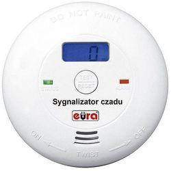 """SYGNALIZATOR CZADU (CZUJNIK CZADU) """"EURA"""" CD-28A2 z LCD bateryjny"""