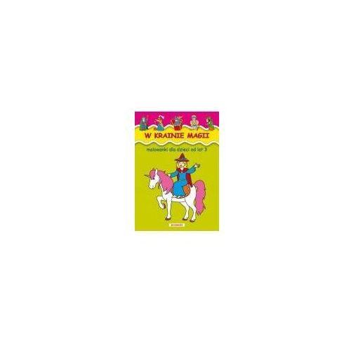 Książki dla dzieci, Malowanki - w krainie magii siedmioróg (opr. broszurowa)