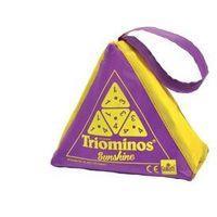 Gry dla dzieci, Triominos Sunshine - fioletowy - Goliath Games