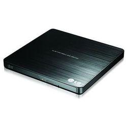 Nagrywarka zewnętrzna DVD -/+ R/RW Slim USB LG GP57EB40 (czarna)