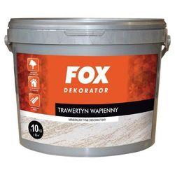 Efekt dekoracyjny TRAWERTYN WAPIENNY 10 kg Biały FOX
