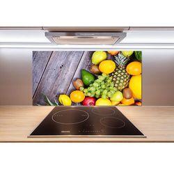 Panel do kuchni Owoce na drewnie