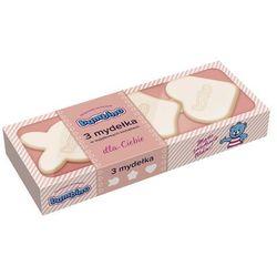 Mydełka Bambino w wyjątkowych kształtach różowe 3 x 50 g