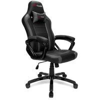 Fotele dla graczy, Fotel gamingowy ATILLA szary PRO-GAMER dla graczy PODKŁADKA PRO-GAMER 80x45cm GRATIS