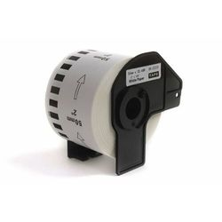Etykiety DK-22223 do Brother QL500 QL550 QL560 QL570 QL650 QL700 QL800 QL820 QL1050 QL1060 QL1100 50mmx30.48m Black on White JetWorld
