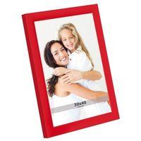Ramki na zdjęcia, Ramka na zdjęcia 30 x 40 cm czerwona