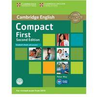 Książki do nauki języka, Compact First Student's Book with answers CD - wyprzedaż (opr. twarda)