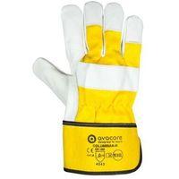 Rękawice ochronne, Rękawice robocze skóra licowa COLUMBIAN-R RIGGER kategoria II
