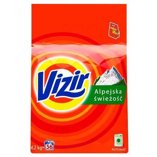 Proszki do prania, Proszek do prania Vizir Alpejska Świeżość Deep Down Cleaning 4,2 kg (56 prań)