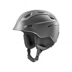 UVEX kask narciarski Fierce - black mat (59-61 cm)