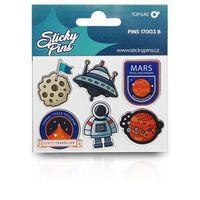 Pozostałe artykuły szkolne, Sticky pins Topgal PINS 17003 B