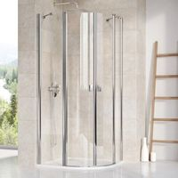 Kabiny prysznicowe, Ravak Chrome 80 x 80 (3Q140100Z1)
