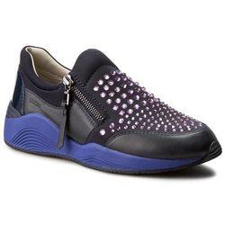 Sneakersy GEOX - D Omaya C D640SC 01585 C4PN8 Dk Navy/Violet