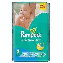 Pampers Pieluchy Active Baby-Dry Economy Pack 3 Midi 68 szt/ DARMOWY TRANSPORT DLA ZAMÓWIEŃ OD 99 zł