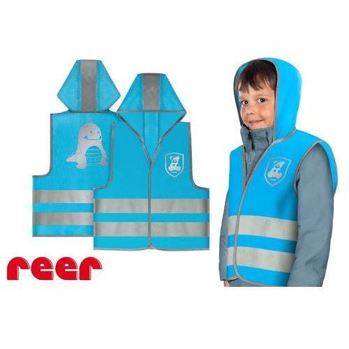 Pozostała odzież dziecięca, Kamizelka odblaskowa, XS, dla dzieci 2 lata+, REER - niebieski