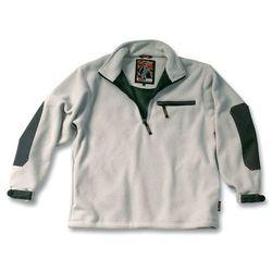 Bluza polarowa, 2-warstwowy laminowany polister (piaskowy) - rozmiar XL