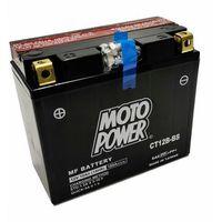 Akumulatory do motocykli, Akumulator motocyklowy Moto Power CT12B-BS YT12B-BS 12V 10Ah 180A EN L+