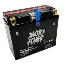 Akumulator motocyklowy Moto Power CT12B-BS YT12B-BS 12V 10Ah 180A EN L+