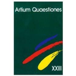 Artium Quaestiones XXIII (opr. miękka)