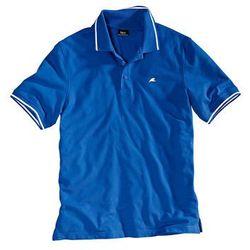 Shirt polo bonprix lazurowy niebieski