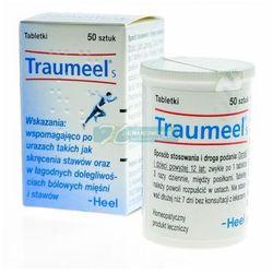 Heel, Traumeel S, 50 tabletek podjęzykowych - Długi termin ważności! DARMOWA DOSTAWA od 39,99zł do 2kg!