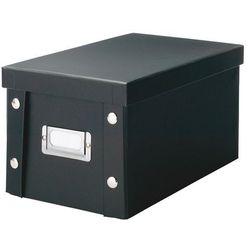 Pudełko na płyty CD, 20 sztuk - kolor czarny, ZELLER