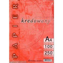 """Papier kredowy Kreska 250g """"100"""