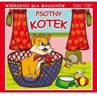 Książki dla dzieci, Psotny kotek (opr. kartonowa)
