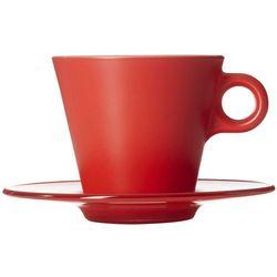 Filiżanka do kawy Cappuccino Ooh Magico Leonardo czerwona (012272)