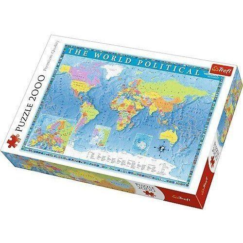Puzzle, Puzzle Polityczna mapa świata 2000