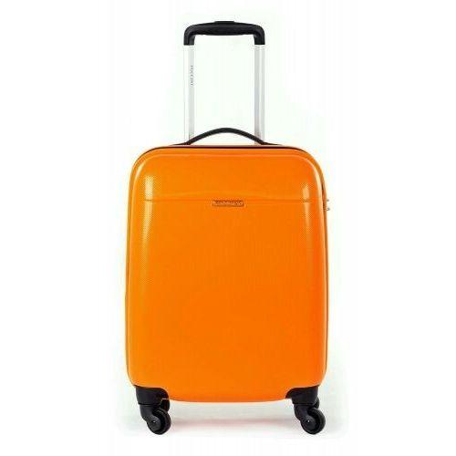 Torby i walizki, PUCCINI walizka mała/ kabinowa z kolekcji PC005 VOYAGER twarda 4 koła materiał Policarbon zamek szyfrowy z systemem TSA