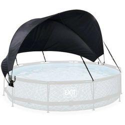 Dach żagiel przeciwsłoneczny osłona markiza do basenu Exit o średnicy 360 cm