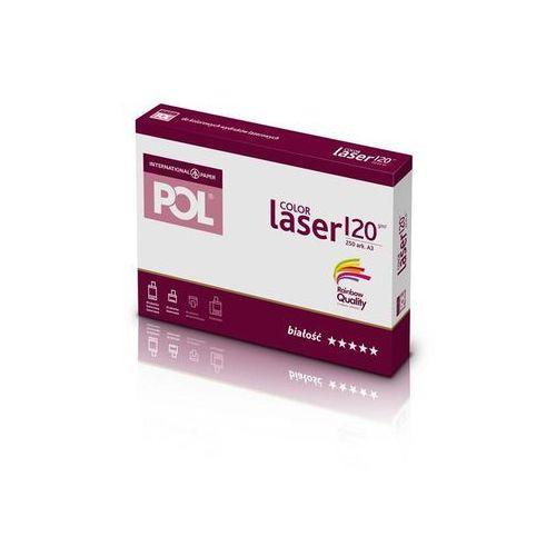 Papiery i folie do drukarek, Papier xero A3 PolColor Laser 300g. biały