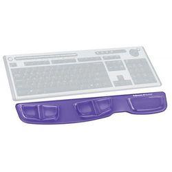 Podkładka przed klawiaturę Health-V Crystal fioletowa