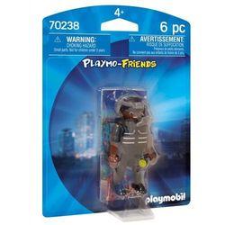 Playmobil: Policjant jednostki specjalnej (70238). Wiek: 4+