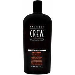 American crew fortifying szampon na wypadanie włosów dla mężczyzn 1000ml