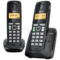 Telefony stacjonarne, Telefon Siemens Gigaset A220 Duo