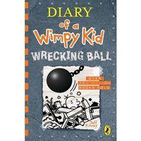 Książki do nauki języka, Diary of a Wimpy Kid Wrecking Ball 14 - Kinney Jeff - książka (opr. miękka)